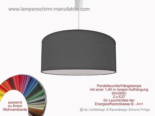 pendelleuchte 40 cm lampenschirm onlineshop. Black Bedroom Furniture Sets. Home Design Ideas
