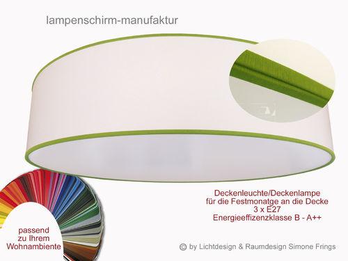 deckenleuchte 60 cm 3 x e27 lampenschirm onlineshop. Black Bedroom Furniture Sets. Home Design Ideas