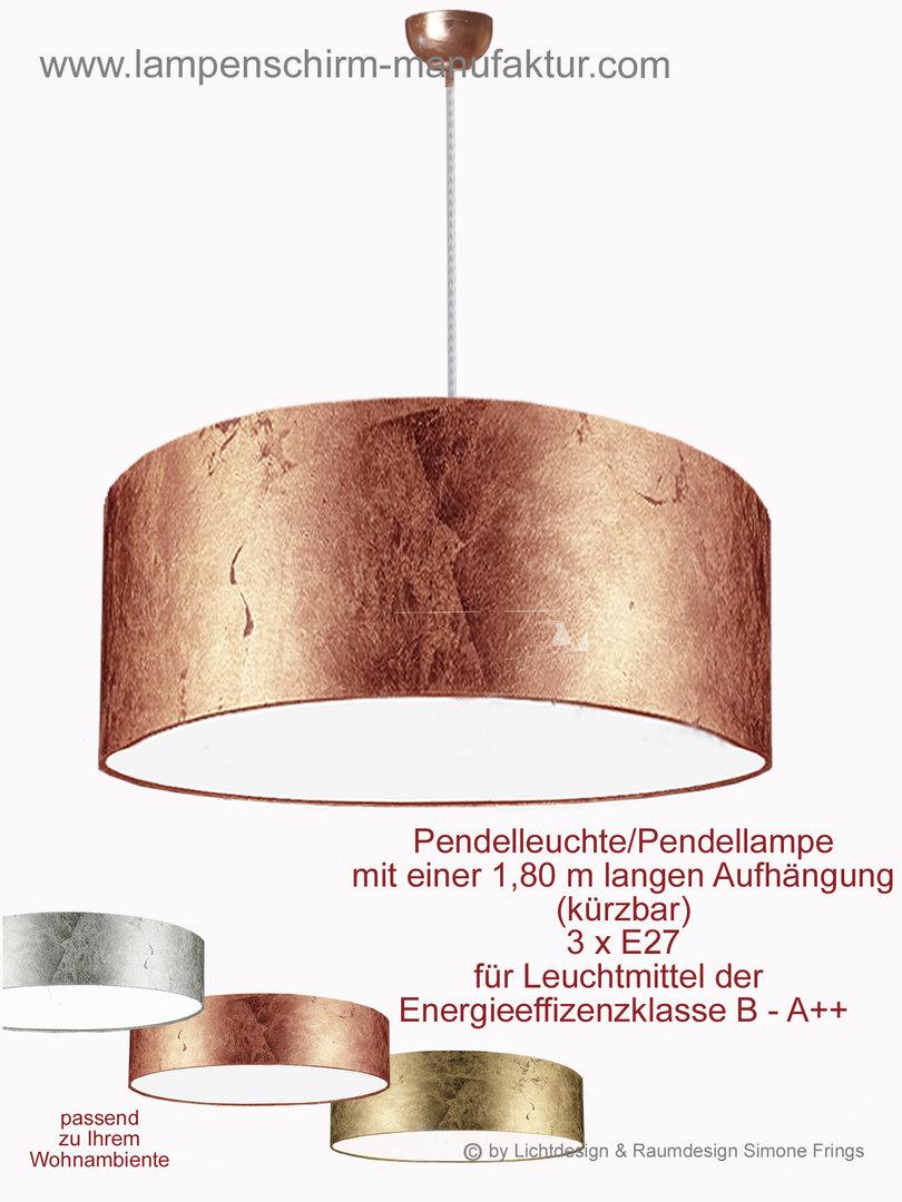 Pendelleuchte Gold Silber Kupfer 5026 Lampenschirm Und Leuchten