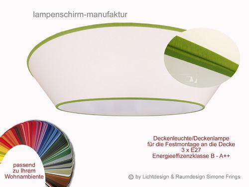 deckenleuchte 70 cm 3 x e27 lampenschirm onlineshop. Black Bedroom Furniture Sets. Home Design Ideas