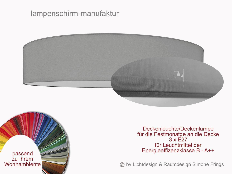 Deckenleuchte 90 cm 3 flg Lampenschirm Diffuser